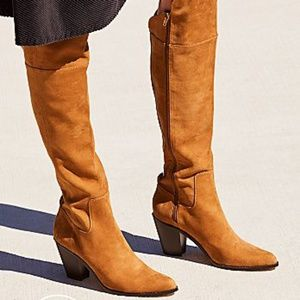 Free people vegan overland boot nwt